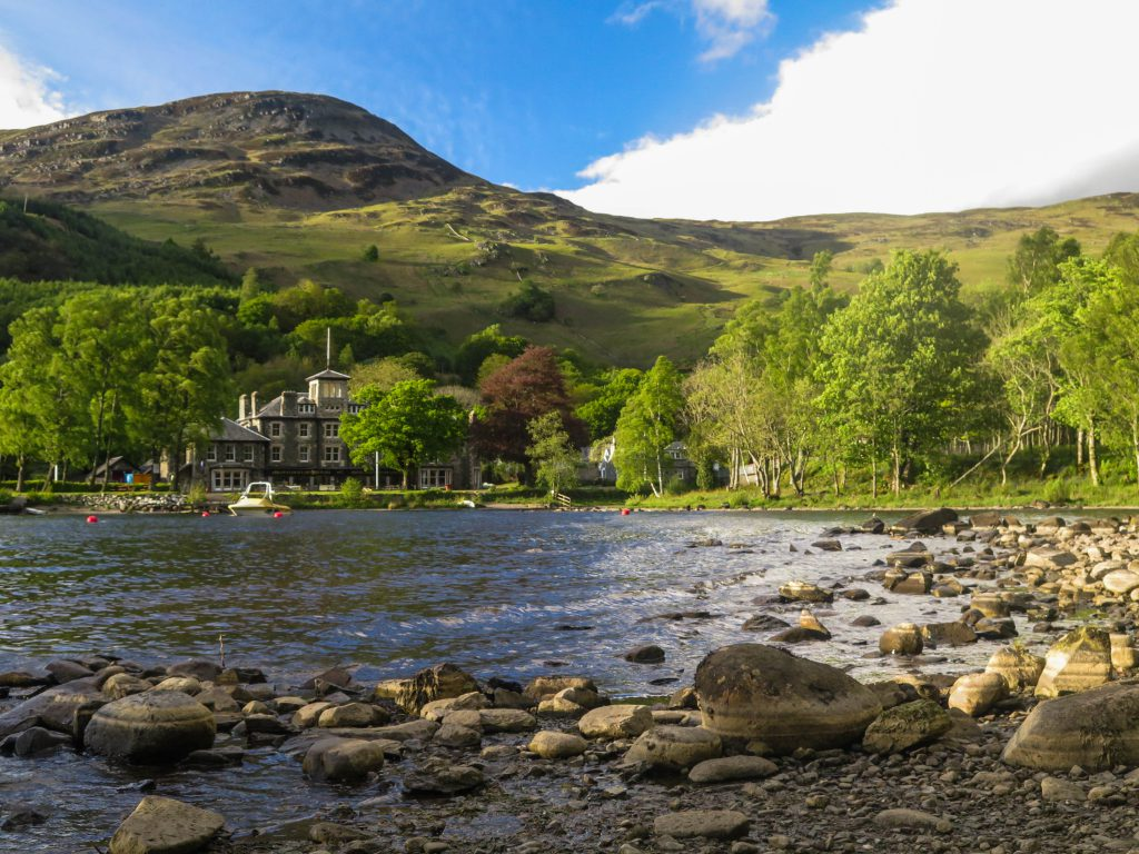 Loch Earn photograph by Nick Grooff