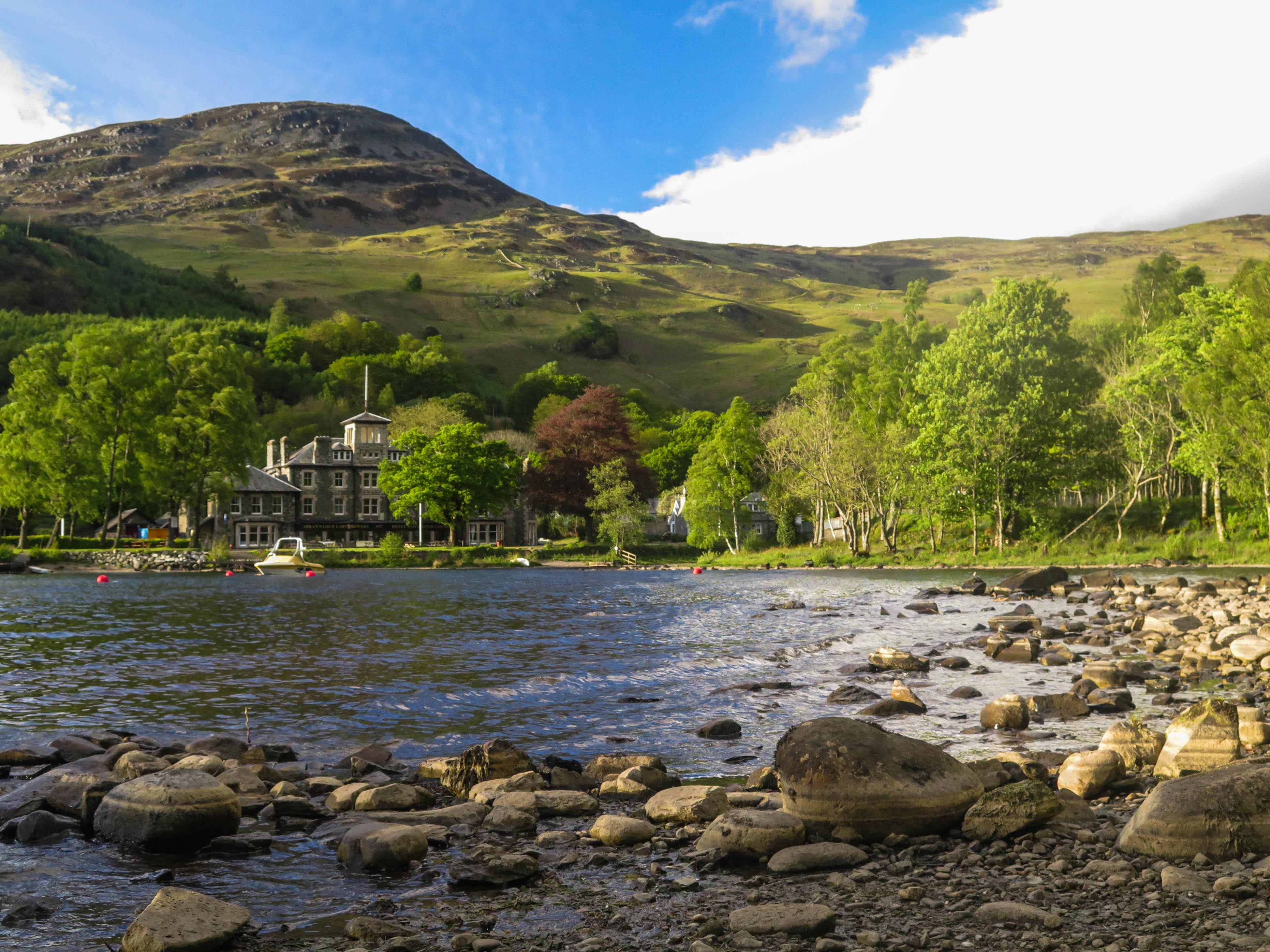 Loch Earn, Schotland