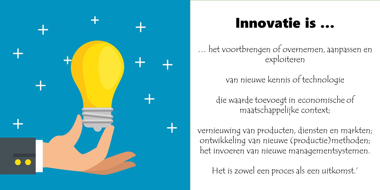 Wat is innovatie?